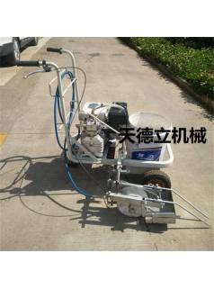 供应本田汽油机塑胶跑道划线机  5公分专业塑胶跑道划线机