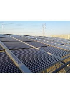 丹阳宏福物流园太阳能加空气能热水工程竣工