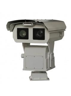 杰士安远距离热成像云台摄像机,红外热成像摄像机集成