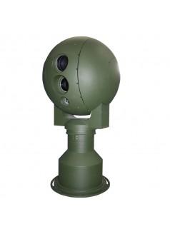 杰士安550抗台风光电转台监控一体机,红外热成像摄像机或激光转台摄像机,支持1~15公里监控