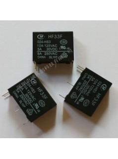 原装宏发继电器JZC-33F/024-ZS3(555)