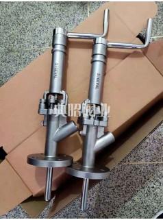 不锈钢法兰柱塞式取样阀