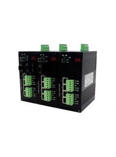 深圳讯记CI-CJ-TF系列编码器HTL/TTL信号光电转换器 光纤通信  工业级接线端子