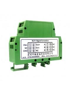 热电阻温度变送器PT1000转4-20mA