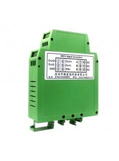 PT100转0-10V一进二出  温度信号分配器