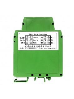 Pt10转4-20mA 热电阻温度变送器
