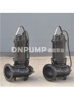 大口径基础排水污水泵