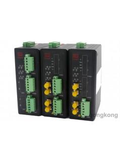 多通道工业级光纤通讯的开关量光纤转换器,干触点信号光纤转换器