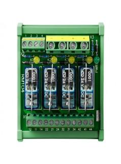 泓格1路C型继电器,4路功率继电器模块RM-104