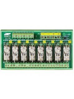 泓格1路C型继电器,8路功率继电器模块RM-108