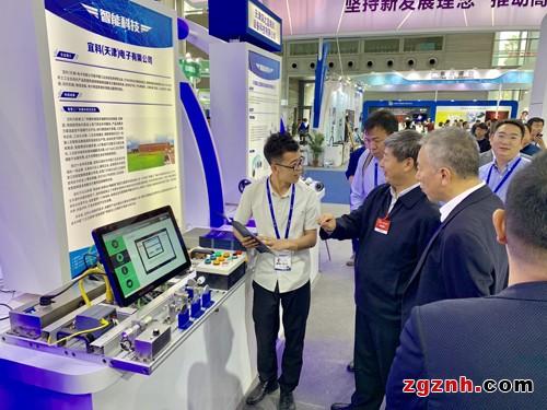 宜科工业App技术亮相2018高交会