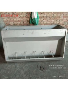 厂家定制猪用料槽 不锈钢食槽 单双面食槽