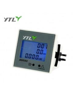 永泰隆 单相电子式电能表 面板式安装电表 单相智能有功电度表