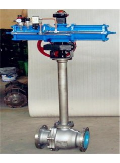 气动低温球阀DQ641F-16P