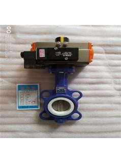 气动衬氟蝶阀D671F4-16C