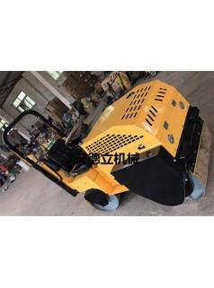 700mm座驾式双钢轮振动压路机 小型座驾式振动压路机厂家