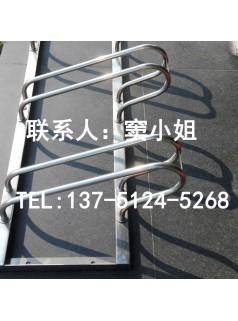 优质安全定制304不锈钢自行车停车架卡位式组装
