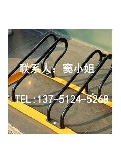 自行车停车架卡位式碳素钢材质组装三卡位烤漆黄黑相间