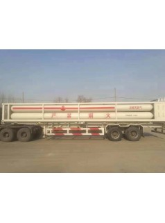 CNG压缩天然气运输车 8管cng槽车尾 cng8管上装