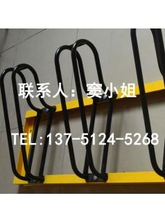 卡位式优质碳素钢自行车停车架厂家供应定制耐撞防盗