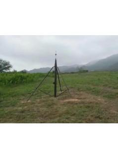 5米手摇式升降杆车载后式安装升降杆河南万佳铝合金升降避雷针