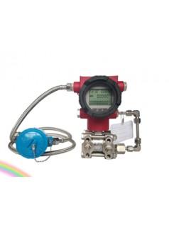 温压补偿一体化多参量差压变送器 现场显示瞬时累积流量温度压力