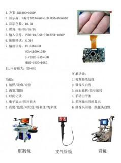厂家直供高清1080P方案医疗用内窥镜拍照录像液晶模块