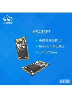 可内置传感器的低功耗蓝牙模块MS49SF7