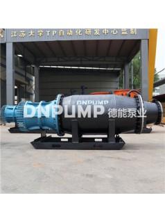 畅销排涝用卧式潜水轴流泵
