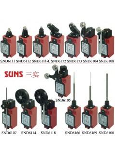 SUNS美国三实SND6系列安全限位开关