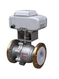 供应Q941F46电动衬氟球阀/电动衬胶球阀