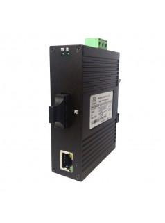 讯记1光1电工业光纤收发器百兆光纤收发器