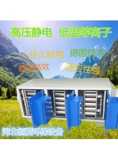 低温等离子净化器车间油烟废气净化处理设备制造商