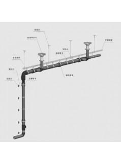 抗弯型预埋槽道垂直悬吊底座装置