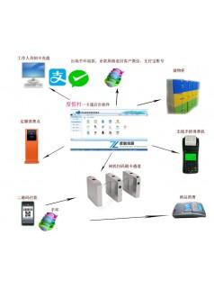景区检票系统供应商 景区指纹扫码检票系统支持定制