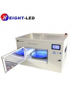 LEDUV固化炉 摄像头马达无影胶固化 UV烤箱