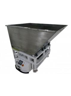 背驼翻斗式AGV 重型装货卸货一体机物流输送机