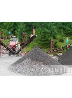 陕西时产350吨移动磕石机惊艳现世ZQ81