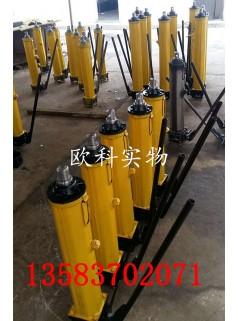 炮采工作面矿山液压推溜器 分体推溜器