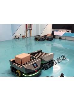 二维码导航仓储AGV小车 物料AGV运输车
