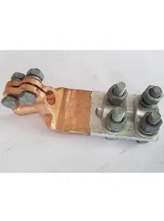 变压器佛手铜铝线夹 SBG变压器线夹 铜铝过渡铜抱杆线夹
