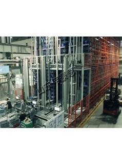 双立柱巷道式堆垛机 机械制造业自动化立体仓库