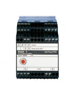 用于铁路的测量传感器 VariTrans P 42000 隔离放大器