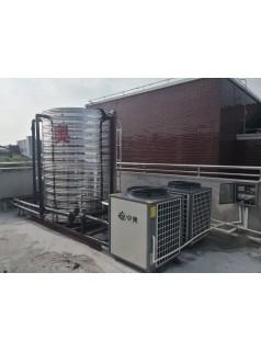 上海养老院空气能安装完毕 交付使用中