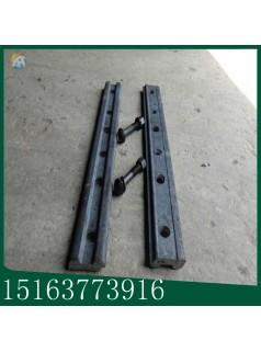 钢轨夹板带螺栓优惠价格绝缘钢轨道夹板