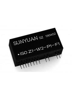 Pt100/Cu50热电阻信号转成频率信号IC:ISO Z-W-P-F系列.