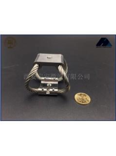 西安宏安车载仪器防震-GR4-6.7D-A专业航拍摄影钢丝绳隔振器