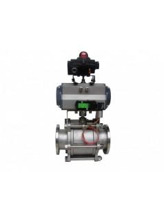 GUQ气动真空球阀是适用于真空系统中