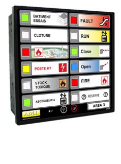 法国A.M.I指示器面板J1805- J2005 - J2405