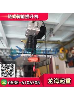 200kg链式智能提升机现货,链条、吊钩、手柄一体化